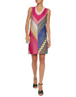 MISSONI Crochet Knit Dress IT 40