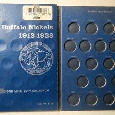Vintage  1913-1938  BUFFALO/INDIAN  HEAD  NICKELS  FOLDER, w/ NO COINS Included