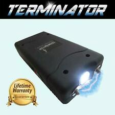Terminator Gt800- 500 Mv Mini Rechargeable Police Flashlight Stun Gun+Taser Case