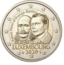 Luxemburg 2020 - Prins Hendrik - 2 euro CC - UNC