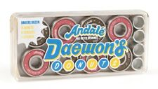 ANDALE Skateboard Bearings Daewon Song DONUT PRO Set of 8 with spacers + sticker