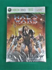 Xbox360 -- HALO WARS Limited Edition -- New!! JAPAN. GAME.  53079