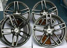 "17"" Grey DRS Alloy Wheels Fits Vauxhall Astra J Sintra Zafira + Tourer 5x115"
