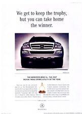 2007 Mercedes Benz GL450 GL Original Advertisement Print Art Car Ad J963