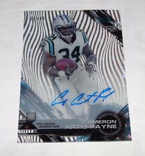2015 Topps High Tek CAMERON ARTIS-PAYNE #78 Diffractor Autograph RC/99 PANTHERS