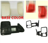 For 99-02 Chevy GMC Silverado  Side view  Power Heated LEd Signal Towing Mirrors