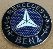 Mercedes Benz shield metal badge plate emblem