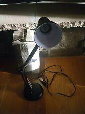 LUXO LEDU ADJUSTABLE ARTICULATING LIGHT LAMP BLACK 75 W WATT W/BOX WORKS GREAT!!