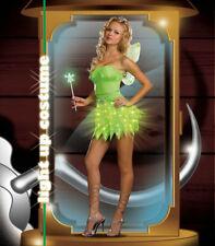 Bright Sprite Halloween Light Up Costume Women Fairy Dress 5 Piece Set XL