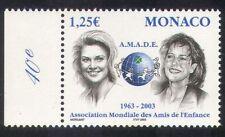 Mónaco 2002 Princesa/Caroline/Stephanie/Children's Society/bienestar 1v (n39261)