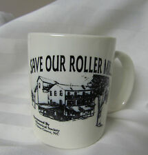 China Grove Grain Roller Mill  North Carolina NC Vintage Coffee Mug Cup RARE USA