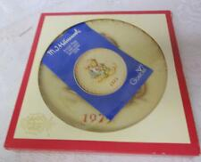Vintage Goebel Hummel Annual Plate Ride Into Christmas 1975 Box & Paper