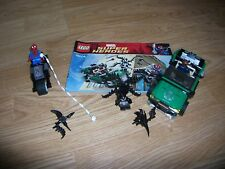 Lego Marvel Super Heroes 76004 SpiderMan Spider Cycle Chase