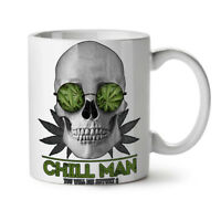 Chill Weed Stoner Rasta NEW White Tea Coffee Mug 11 oz | Wellcoda