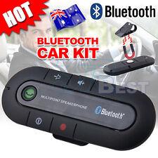 Wireless Bluetooth Handsfree kit Car Speakerphone Mic For iPhone 4 5 6s 7 plus