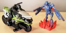 GI JOE SIGMA SKY CYCLE SNAKE EYES & NINJA BAT 2006 G.I. JOE PRISTINE
