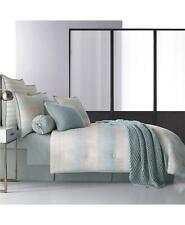Oscar Oliver Vince Cotton California King Comforter Only Aqua