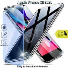 CUSTODIA per Apple iPhone SE 2020 Cover TPU + Pellicola VETRO Temperato 9H