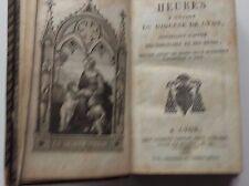 Heures à l'usage du Diocèse de Lyon, contenant l'office des dimanches... 1826