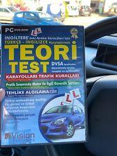 Theory Test Revision In Turkish , Teori Rest DVSA türkçe-inglizce