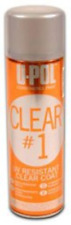 UPOL 0796 Clear #1 U-Pol High Gloss UV Resistant Clear Coat Aerosol Can