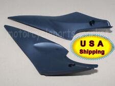 Pair Black Gas Tank Side Cover Panel Fairing Cowl For Suzuki GSXR 600 750 06 07