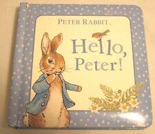 Beatrix Potter Hello, Peter! Board Hard Childrens Short Book Story