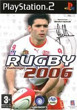 RUGBY CHALLENGE 2006     -----   pour PS2  // PN