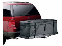 """Expendable 58"""" Cargo Carrier Bag Water Proof Hitch Mount Luggage Roof Top Rack"""