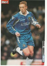 MIKAEL FORSSELL CHELSEA 1998-2005 ORIGINAL HAND SIGNED MAGAZINE CUTTING