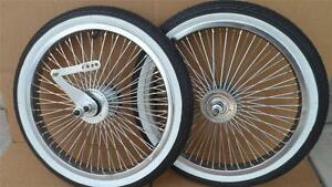 "16"" Lowrider Bicycle Dayton Wheels 72spoke BMX Schwinn w/ Tires & Tubes 16x1.75"