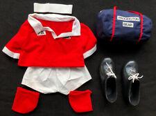 Paddington Bear Vtg Gabrielle Designs Outfit Soccer Rugby Shirt Shorts Shoes Bag