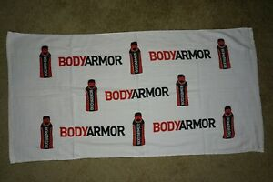 BODY ARMOR PGA TOUR ISSUE GOLF CADDIE TOWEL  42 x 23.5 NBA BRYANT DUSTIN JOHNSON