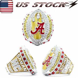Alabama Crimson Tide Championship Ring 2020 Football National Champions Size8-14