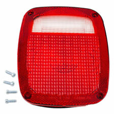 FITS JEEP WRANGLER 1987-2006 LEFT DRIVER TAIL LIGHT LENS REAR LAMP TAILLIGHT