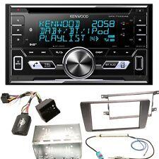 Kenwood DPX-7100DAB DAB+ USB MP3 iPhone MP3 Einbauset für Skoda Octavia 2 Yeti 5