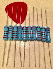 5 PCS 2Watt Metal Film Resistors 2W Resistor 1% YOU CHOOSE THE VALUE