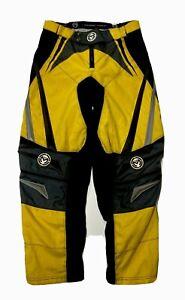 Moose Racing M1 Riding Pants Mens 34 Yellow & Black Adjustable Motorcycle Moto-X