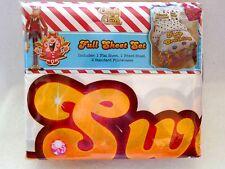 Candy Crush Full Size Sheet Set Ultra Soft Microfiber Sweet Dreams