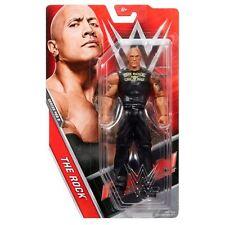 WWE THE ROCK BASIC SERIES 68.5 68 68B WRESTLING MATTEL ACTION FIGURE WRESTLER