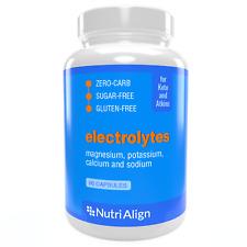 Keto Electrolytes by Nutri-Align: Magnesium, Potassium, Calcium, Sodium, 90 caps