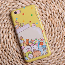 Cute Little Animal Sumikko Gurashi Print Soft Case Cover for iPhone X 6S 7 7P 8