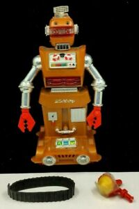 VINTAGE IDEAL TOY CORP 1968 - ELECTRONIC ROBOT ZEROIDS ZOBOR