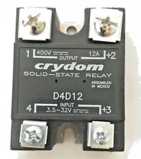 CRYDOM, D4D12, Solid State Relay, SSR 400VDC / 12A, 3.5-32VDC IN (USED)