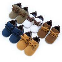 0~18M Newborn Baby Boys Girls Soft Sole Crib Shoes Warm Boots Anti-slip Sneakers