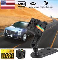 Nanny CAM Mini Hidden Camera 1080p Security Infrared Night Vision Video Recorder