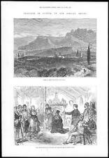 1878-Chipre cythraea Monte pentedactylon británico kaimakan Hepta-Khumi (134)