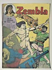 bd ZEMBLA N° 50  lug 10/08/1967 guillaume tell tom billy