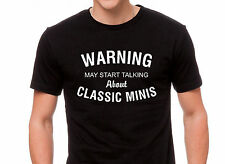 "Classic Mini Cooper T Shirt "" Warning """
