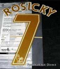 Arsenal Rosicky 7 Name/Number Set Football Shirt Lextra 07-13 Away Sporting ID